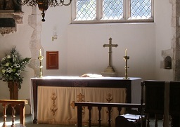 a picture of the altar.